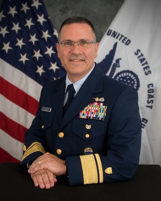 Rear Adm. Robert P. Hayes, U.S. Coast Guard 