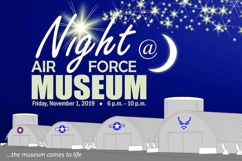 The museum comes to life with a variety of activities on Friday, November 1st, 2019 from 6-10 p.m. Meet historical and fictional aviation characters, look-in cockpits, kids activities and more.