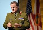 The Defense Intelligence Agency's Deputy Director for Commonwealth Integration Maj. Gen. John Howard