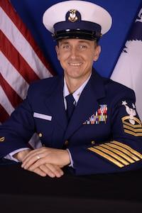 Photo of Command Master Chief Corey Sidlo