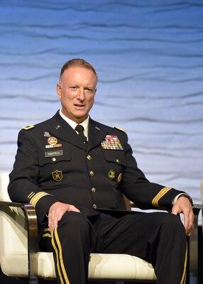 Brig. Gen. Gregory J. Hadfield, U.S. Africa Command Intelligence Directorate Deputy Director, explains USAFRICOM's modernization strategy
