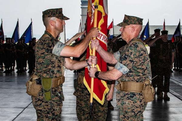 Marine Corps Air Station Iwakuni Change of Command