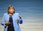 Jean Schaffer, Defense Intelligence Agency Cyber and Enterprise Operations Chief, explains the Agency's digital transformation