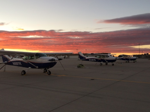 The aero club offers a wide variety of aviation services to cadets, service members, retirees, contractors and their families at a reduced cost. The program is expanding as its membership continues to grow and will soon add more aircraft and avionics capabilities.