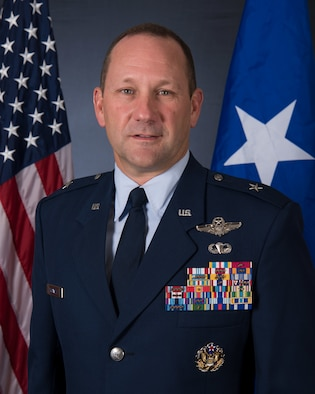 Official Photo of Brig. Gen. Gentry Boswell