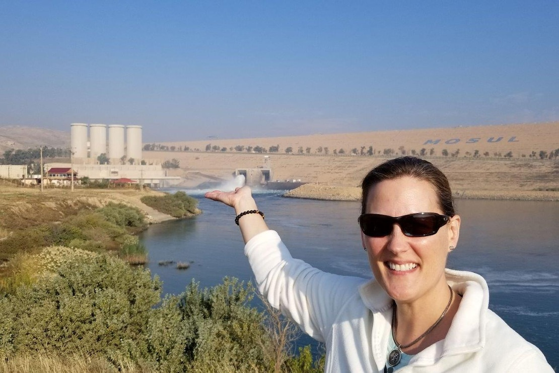 Tambour Eller, currently serving as the project executive on the Mosul Dam Task Force during its final close out, was recently named the U.S. Army Corps of Engineers Civilian of the Year. Eller received the award for her combined work in three jobs over the course of the awards period.