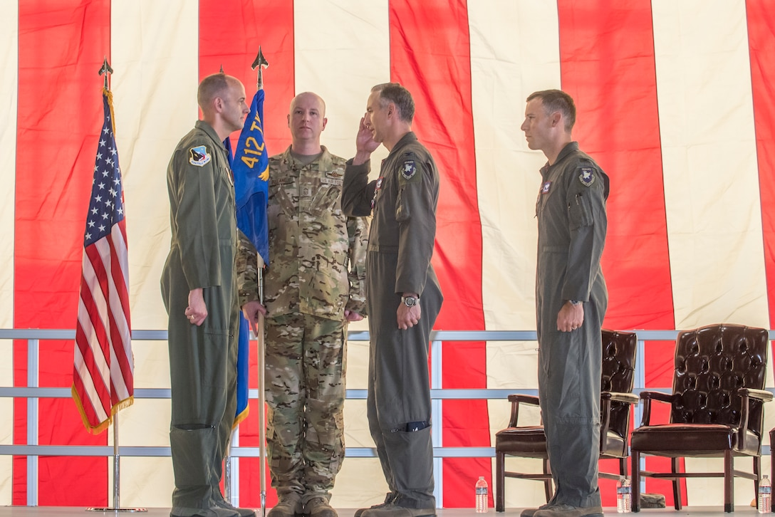 Change Of Command Ceremony for Col. Christopher J. Spinelli and Col. Timothy J. Spaulding