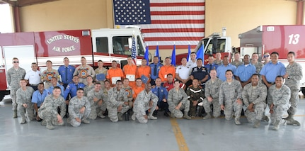 25 Central American firefighters graduate from US Air Force led exercise