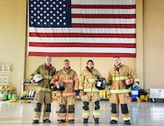 Colorado natives with the U.S. Air Force train Central American firefighters
