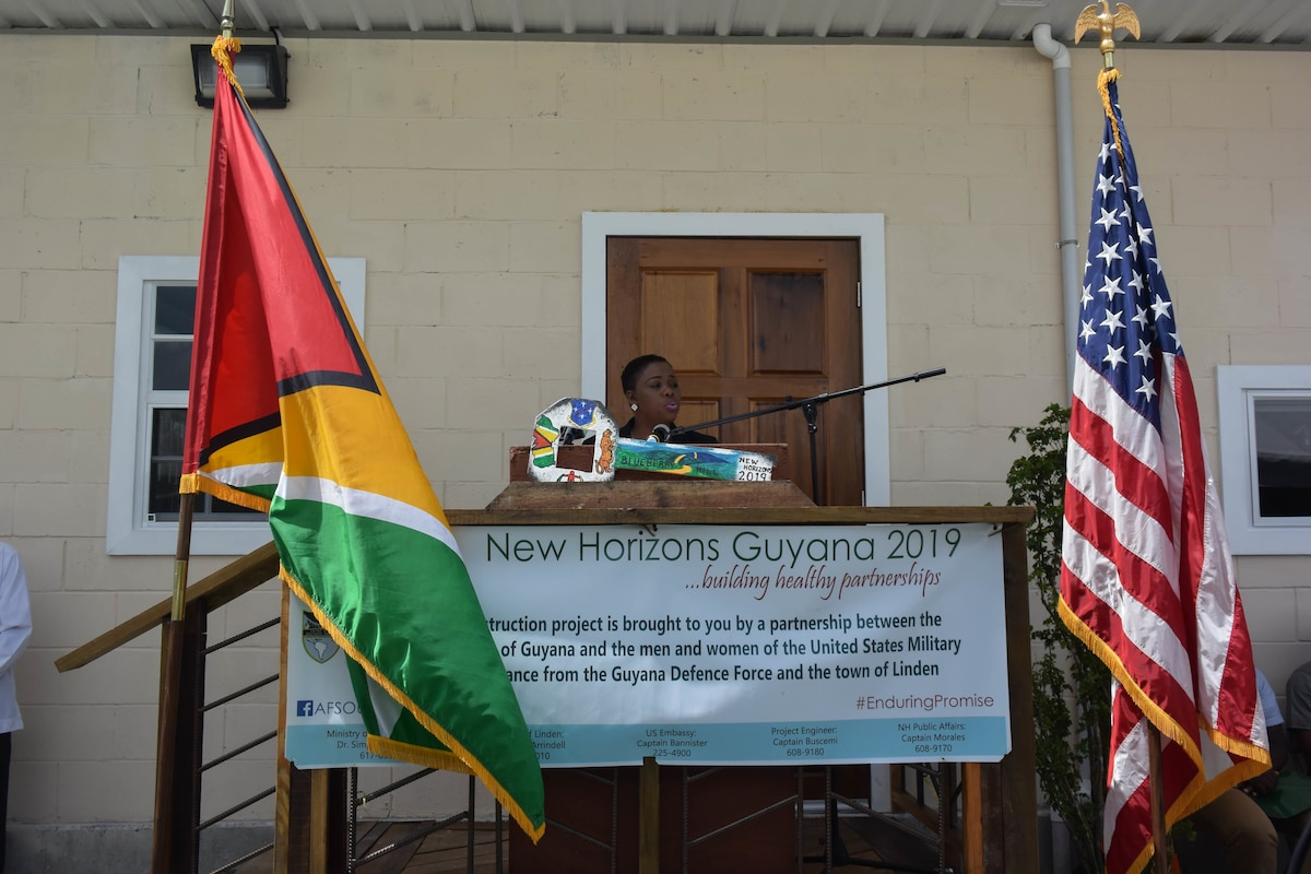 New Horizons Training Exercise Guyana 2019