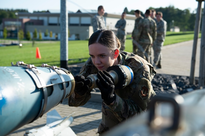 The 52nd MXS hosted the event to showcase to the wing populous what they do on a daily basis as well as in a deployed location.