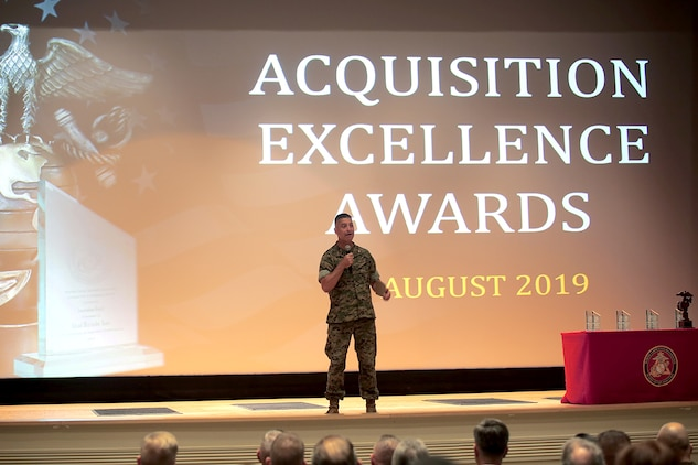 Marine Corps acquisition workforce recognized for excellence, innovation in 2018
