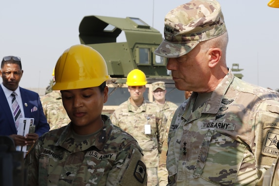 LTG Luckey receives transportation brief in Germany