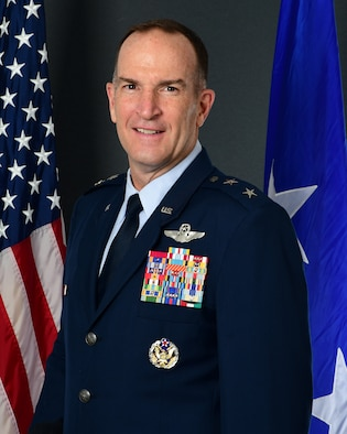 This is the official photo for Maj. Gen. John P. Healy, Commander, 22nd Air Force, Dobbins Air Reserve Base, Georgia.