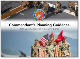 USMC Commandant's Planning Guidance
