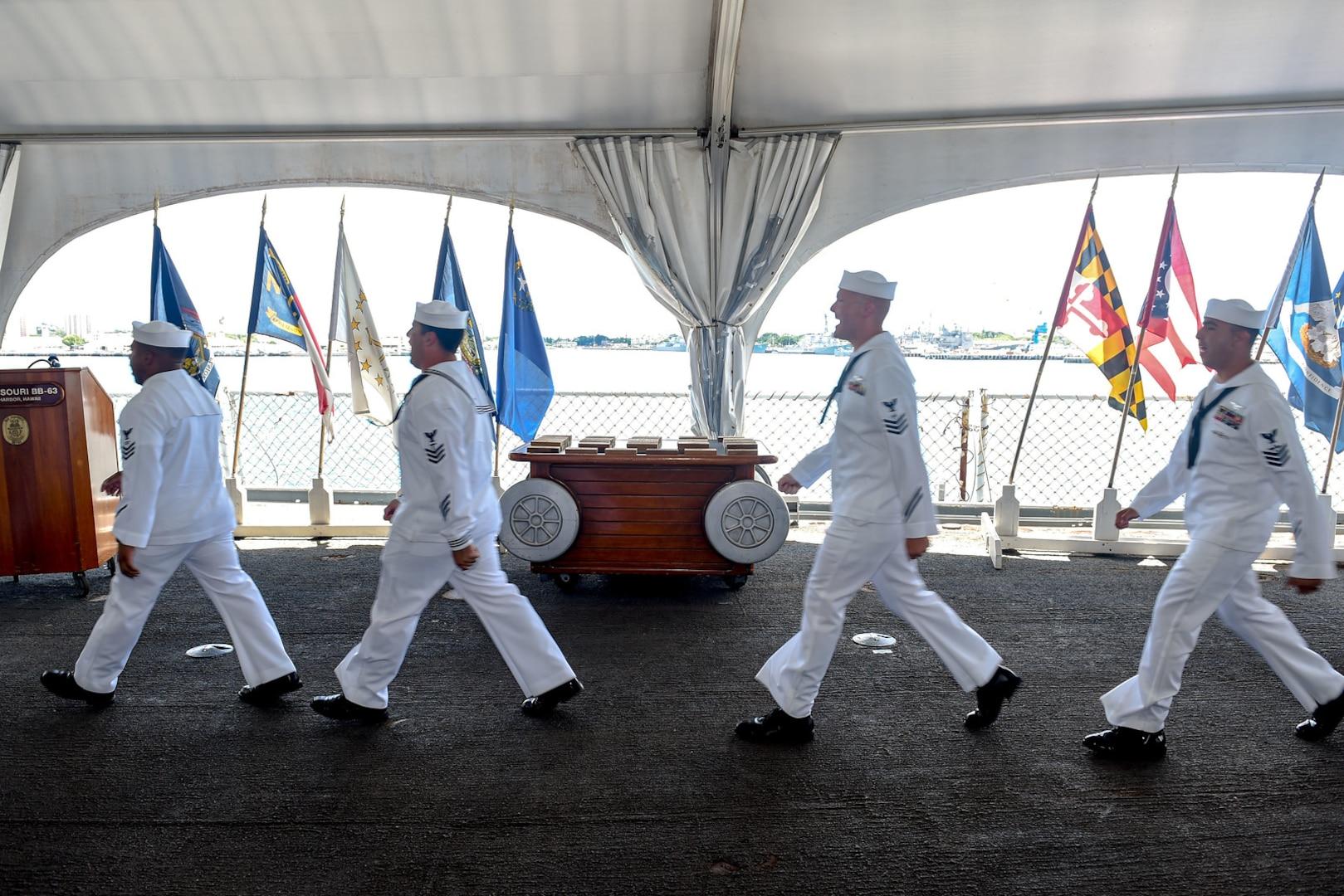 Chief Petty Officer Legacy Academy Graduates 39 on Battleship Missouri Memorial
