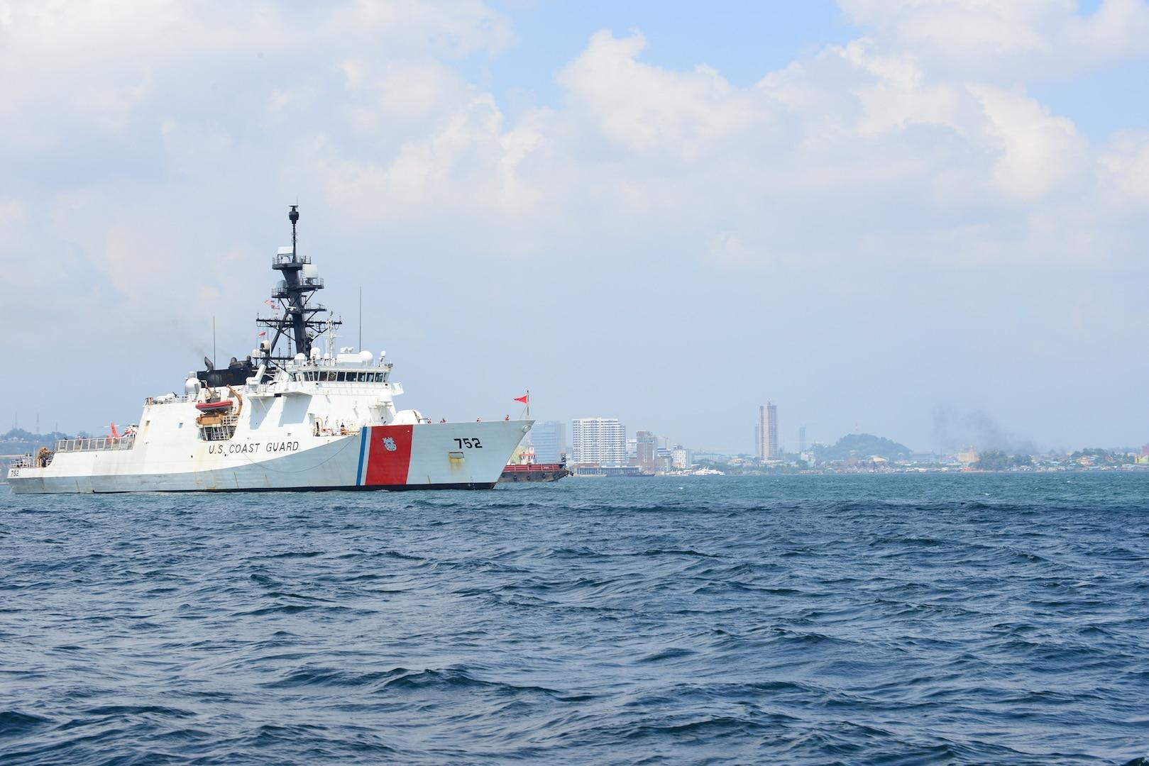 Coast Guard Cutter Stratton Arrives in Chennai, India