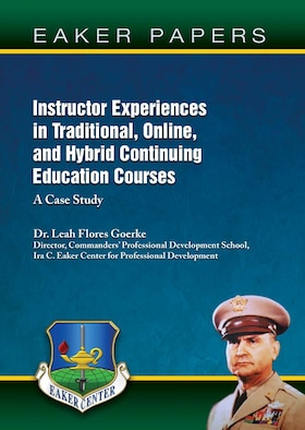 Cover for Instructor Experiences in Traditional, Online, and Hybrid Continuing Education Courses: A Case Study