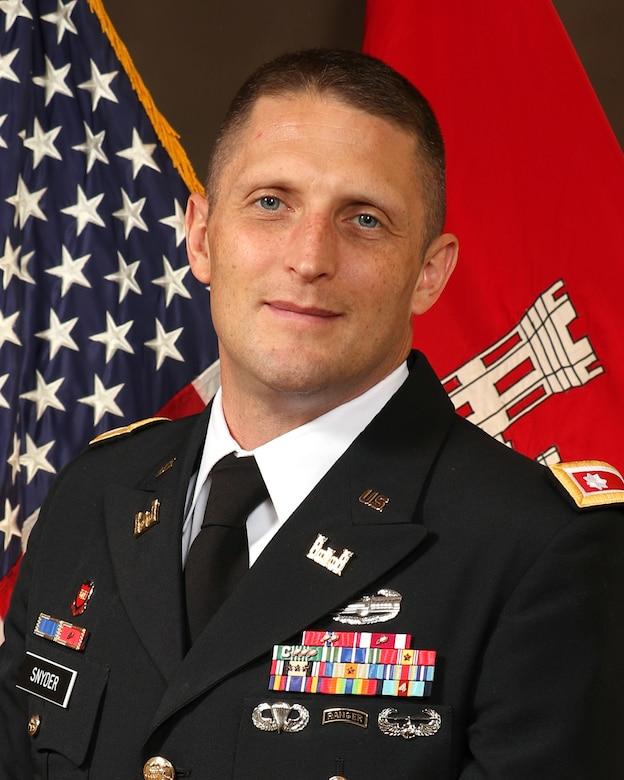 Official Photo for Lt. Col. Scott Snyder