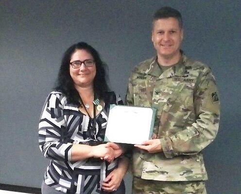 Douglas earns Commander's Award for Civilian Service