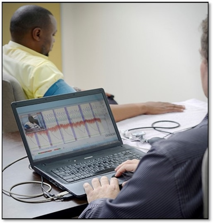 The Air Force Office of Special Investigations 2nd Field Investigations Squadron team developed and implemented an automated prescreening tool that identified 10 percent of total polygraph requests as invalid, thus saving nearly $20,000 in travel funds. The effort costs zero dollars to operate and maintain. (AFOSI photo)