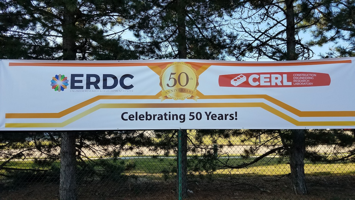 US Army Engineer Research and Development Center's Construction Engineering Research Laboratory celebrates 50th year