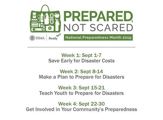 National Preparedness Fair at DSCR