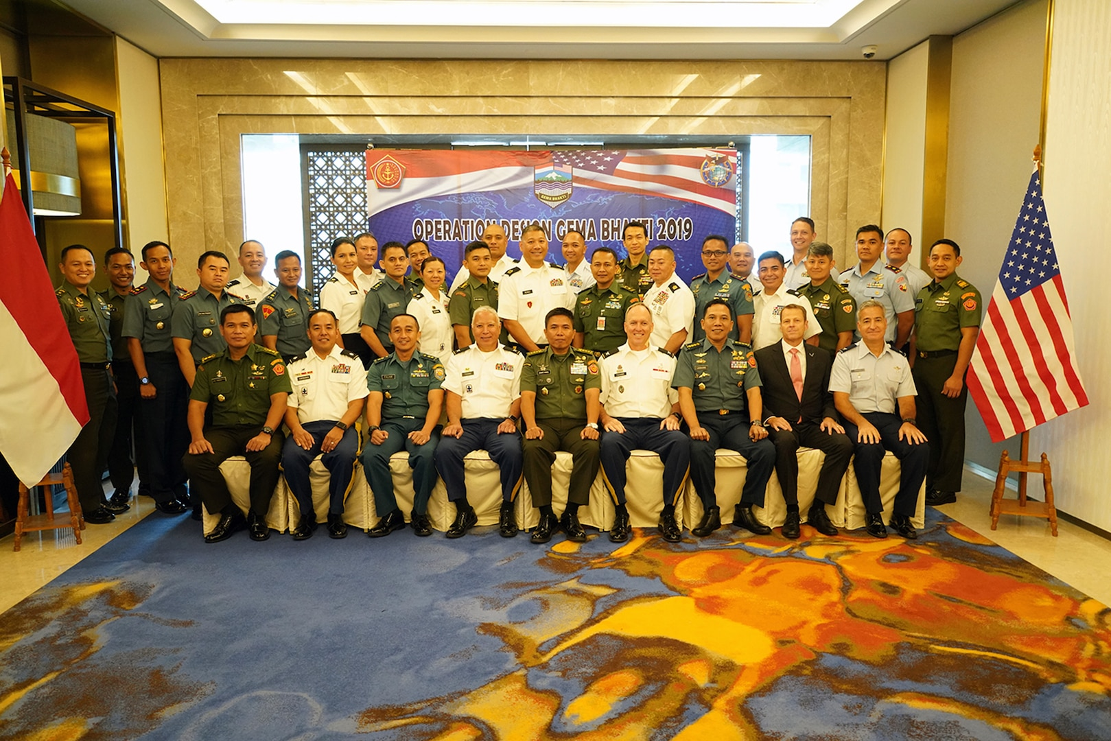 Hawaii Guard Teams with Indonesia for Key Mission Planning