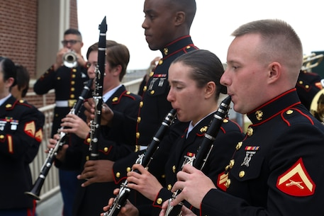 The Parris Island Marine Band provides musical support for ceremonies,functions, and other occasions aboard Marine Corps Recruit Depot Parris Island, and within the Beaufort Tri-Command and Southeast Region; supports the total force recruiting mission within the Eastern Recruiting Region; and performs community relations and public outreach events across the United States in order to improve morale, inspire, motivate, and instill a sense of pride and patriotism, and to re-affirm our core values, customs, and traditions, and best represent the United States Marine Corps.