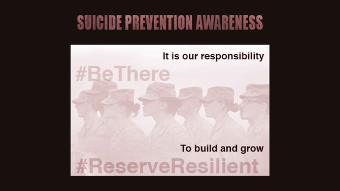 Suicide prevention is the responsibility of everyone