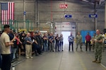 Fleet Readiness Center Southwest Executive Officer Visits DLA Distribution San Diego, California