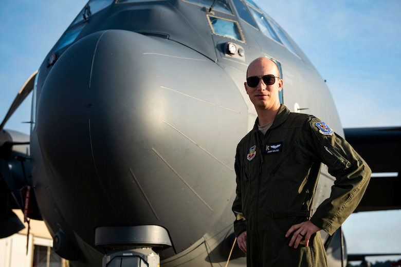 Capt. John Roling, 71st Rescue Squadron operations flight commander, poses for a photo Aug. 27, 2019, at Moody Air Force Base, Ga. After battling depression in 2018, Roling found purpose and meaning in life by helping people in the community through his passion for photography. (U.S. Air Force photo by Senior Airman Erick Requadt)