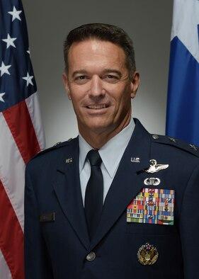 Official Photo for Maj. Gen. Boyd Parker