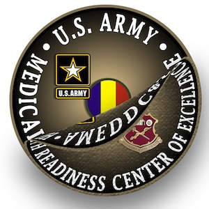 "The graphic for the redesignation ceremony planned for Sept. 16, at which the AMEDDC&S HRCoE will change its name to the U.S. Army Medical Center of Excellence, or MEDCoE, depicts the current logo being peeled away, revealing a very small portion of the new MEDCoE logo bearing the new name. The new logo, just like the current logo bears the distinctive unit insignia, or crest, that was originally approved for the U.S. Army Medical Field Service School June 17, 1965. It was redesignated for the Academy of Health Sciences and amended to revise the symbolism Feb. 20, 1973, extending authorization of wear to personnel of the AMEDDC&S Jan. 5, 1993. The crest is adorned with a motto that reads ""To Conserve the Fighting."" The new MEDCoE logo also bears U.S. Army and U.S. Army Training and Doctrine Command insignias."