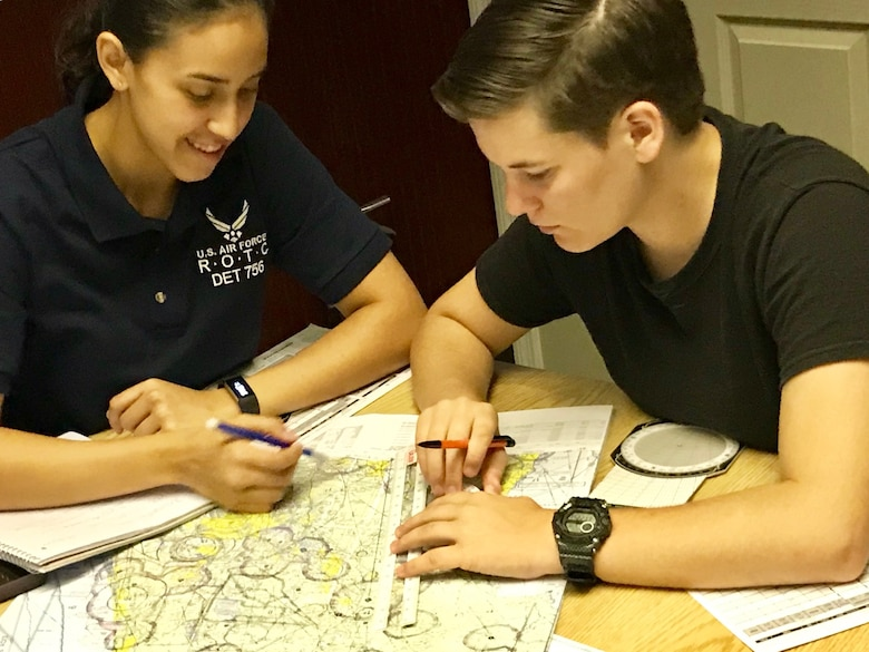 Air Force Junior ROTC cadets at Southeastern University, Lakeland, Florida, study hard through the eight-week Air Force JROTC Flight Academy program for the chance to earn their private pilot certification.  The Air Force Junior ROTC Flight Academy's mission is to increase the luster of aviation by getting teens excited about aviation, and to increase diversity in the aviation community.  Air Force Junior ROTC is one of the most diverse education programs in the Air Force, with 125,000 cadets at almost 880 units worldwide.