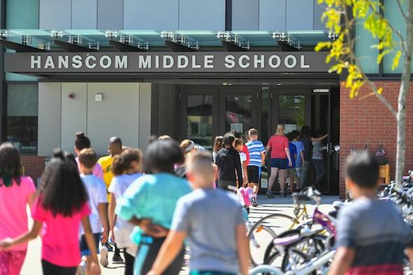 Base children head back to school