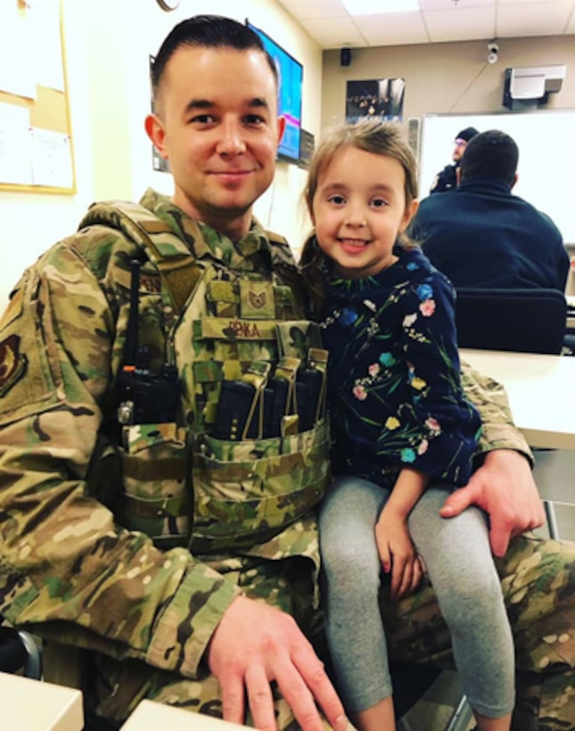 Congratulations to Tech. Sgt. Brian Penka, this week's 412th Test Wing's Warrior Spotlight. Penka's first duty station was Malmstrom Air Force Base, Montana. He was then assigned to Joint Base Andrews, Maryland. He has been deployed Kosovo in 2010. Penka's five-year goals include: being promoted to master sergeant, testing for senior master sergeant; working towards a Master's Degree, have a few more children, and living on the East Coast. (Photo courtesy of Tech. Sgt. Brian Penka)