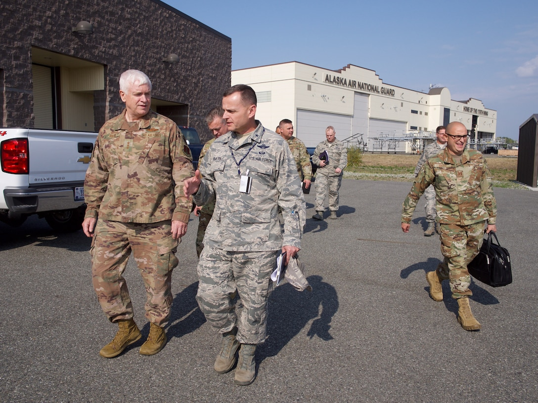 Director, Air National Guard visits 176th Wing Airmen