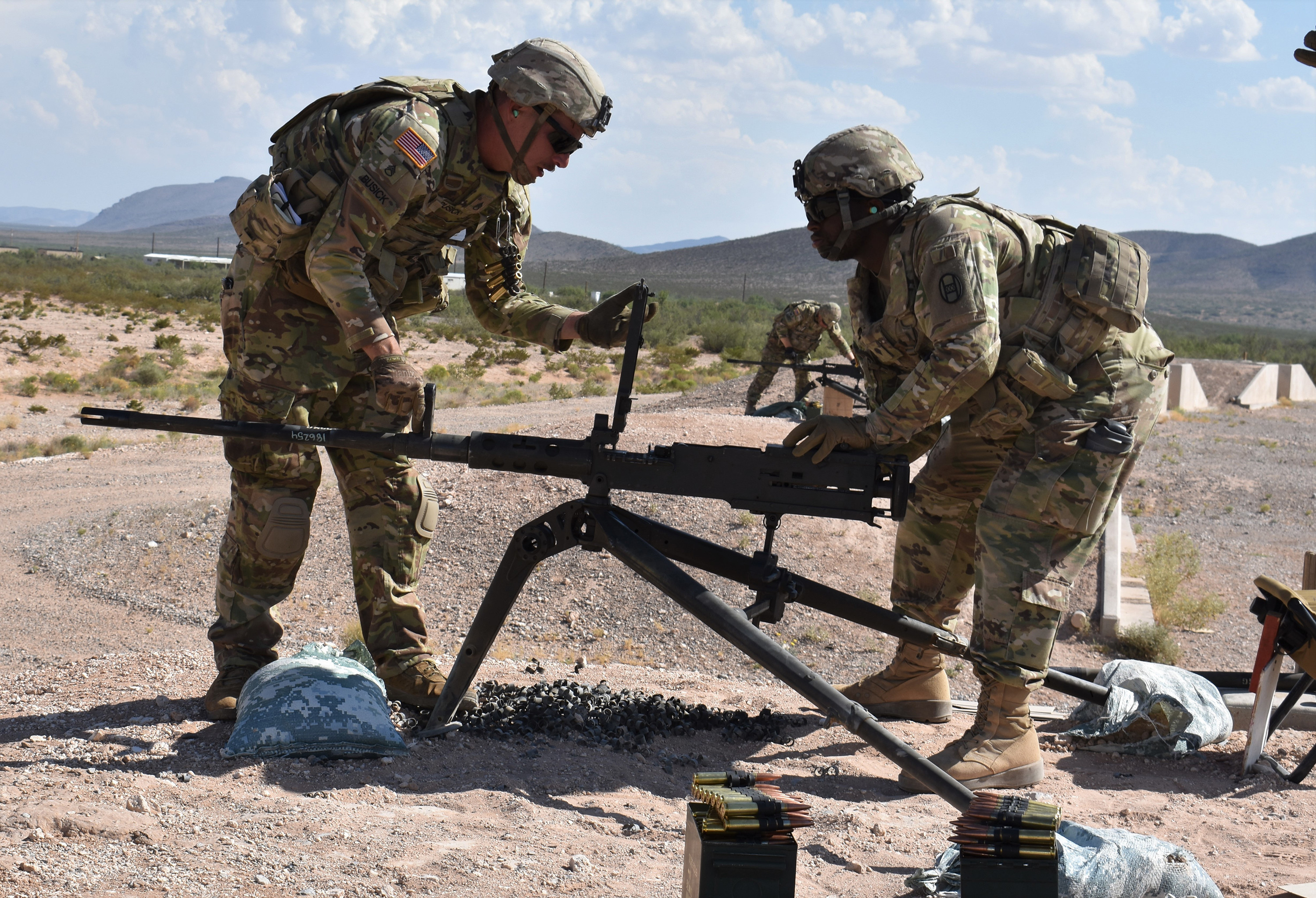 National Guard units use step training to prepare to deploy