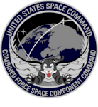 Combined Force Space Component Command Logo