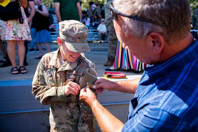 Female Airman earns Ranger tab > Robins Air Force Base