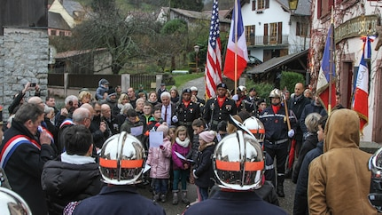 US Soldiers participate in 75th anniversary of the liberation of Thannenkirch
