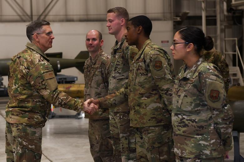 AFGSC Commander visits Team Minot