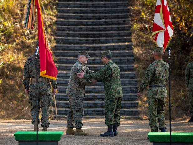Approximately 275 U.S. Marines from 1st Battalion, 25th Marine Regiment, Marine Forces Reserve, currently assigned to 3d Marine Division as part of the Unit Deployment Program, and Marines from 1st Marine Aircraft Wing, will join their Japan Ground Self-Defense Force counterparts from the 8th Regiment, 13th Brigade, Middle Army. Their deployment validates the readiness and skill of the reserves to augment their active duty counterparts.