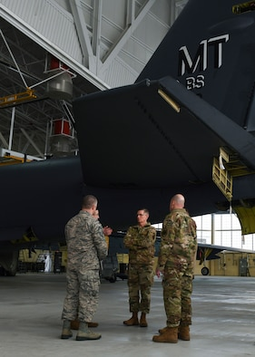 AFGSC Commander visits Team Minot