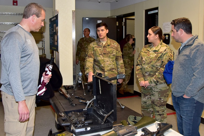 Honorary Commanders tour the EOS