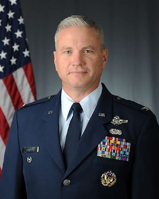 photo of Col Mark R. Johnson