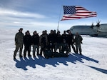 Members of the 109th Air Wing work with the Canadian Air Force to drop Airmen and supplies in a remote polar region to build a skiway for ski-equipped heavy airlift to land on.