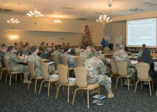 Commanders and first sergeants attend Mental Health Symposium