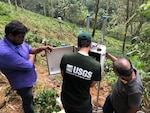 The United States donated landslide monitoring instruments to Sri Lanka's National Building Research Organization (NBRO) to more effectively manage the risk of landslides in Nikgaha, Kalutara.